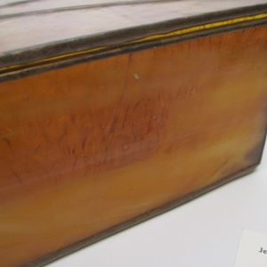 Accents - VTG Stained Glass Trinket Jewelry Box
